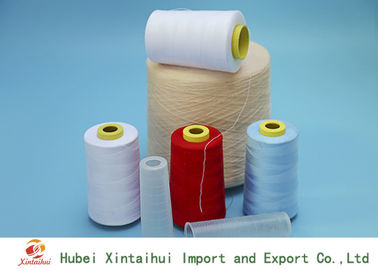 Ring Spun / TFO Dyed Polyester Yarn on Plastic Cone Bright Color for Sewing