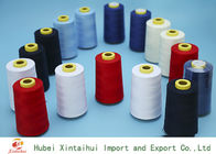 Multi Colored Paper Core Polyester Spun Yarn With TFO Technics 20s-60s
