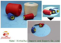 China Dyed Color Spun Polyester TFO Yarn , Core Spun Polyester Sewing Thread factory