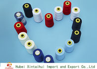 Dyed Ring Spun Polyester Yarn 20s-60s With 100% Polyester Staple Fiber Material