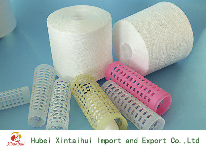 30S Recycled 100% Polyester Ring Spun Yarn , Polyester