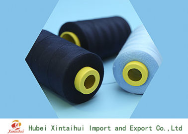 China Ring Spun 100% Polyester Sewing Yarn 50s/3 Dyed Color Anti-Bacteria distributor
