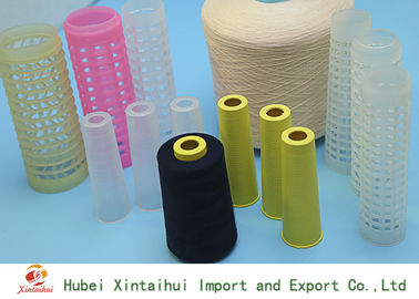 China Dyed 100% Polyester TFO Yarn For Sewing Machine 30/2 30/3 Eco Friendly distributor