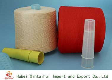 China Multi Colored 60/3 Spun Polyester Thread , Dyed Polyester Yarn For Kintting distributor